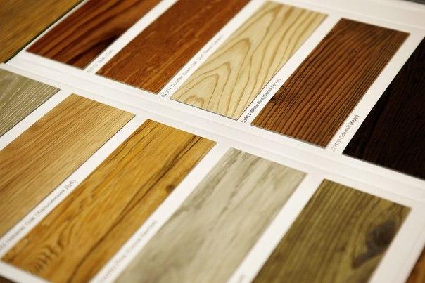 Разновидности виниловой плитки