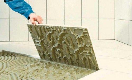 Плиточный клей и низкие температуры