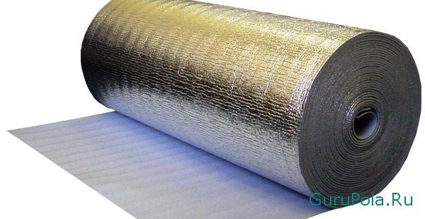 Фольгированная подложка из полистирола