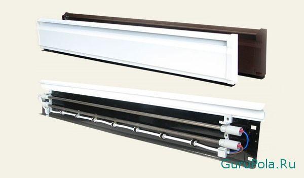 Электрическое плинтусное отопление