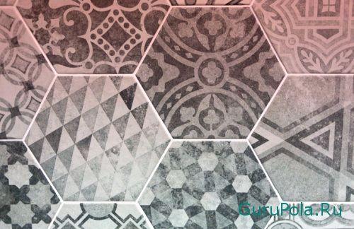 Шестиугольная плитки для пола
