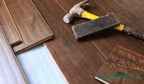 Ремонт ламинированного покрытия