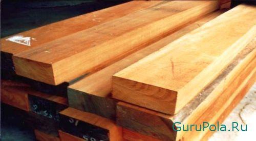 Выбор древесины для пола
