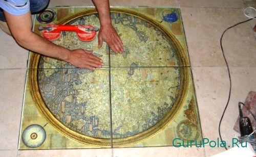 Габариты цементной плитки