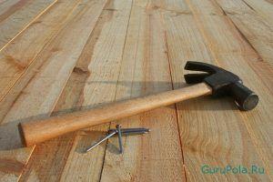 выравнивания деревянного пола