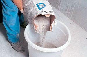 бетон замес