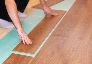 Порядок укладки ламината на деревянный пол