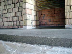 пол бетон