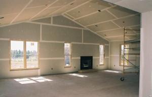 Укладка гипсоволокнистых плит на пол