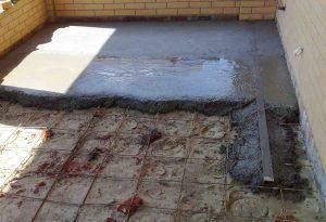 бетон полы
