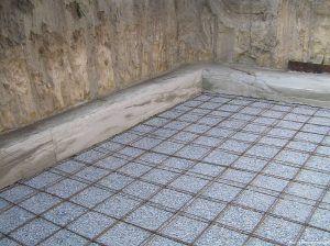 Армирование стяжки бетонной