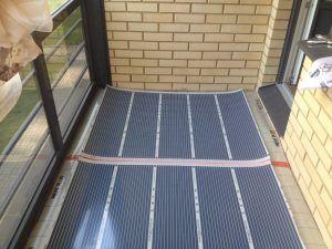 Как сделать теплый пол на балконе
