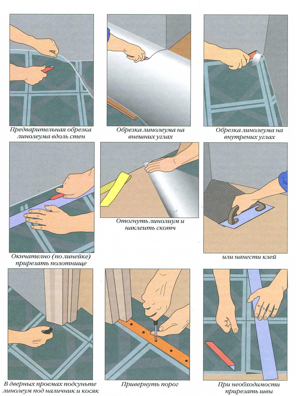 инструкци по наклеиванию