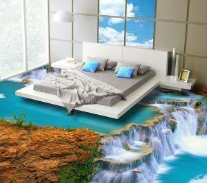 Комната с наливным полом