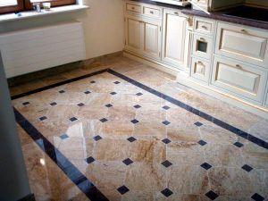 Кухонный пол плитка