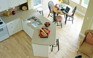 ламинат кухня