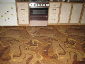 покрытие кухня