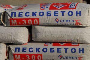 марка пескобетона - М300