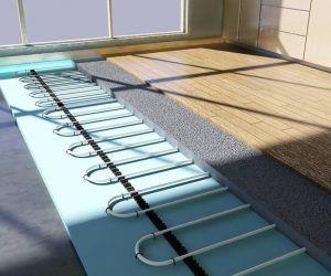 Теплый пол на деревянный пол: как сделать своими руками