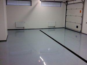 гаражный пол
