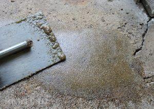 Ремонт бетонной плиты