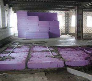 на бетонное основание
