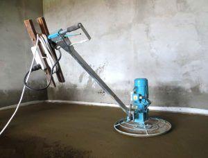 Монтаж бетонного слоя