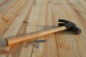 Монтаж деревянных половиц