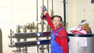 Управление системой водяных полов