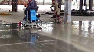 Шлифование бетонного пола