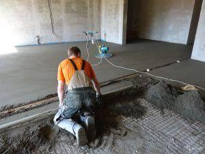 Стяжка из цемента и песка