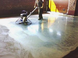 шлиф бетон
