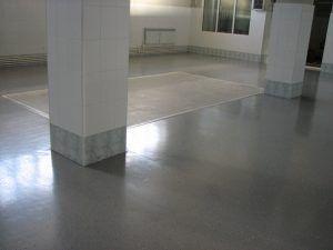 Тонкослойный полиуретановый  пол
