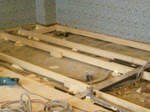 настил бетон