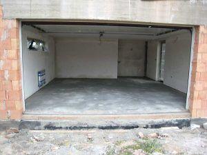 Бетонный пол гараж