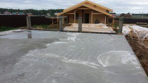 Монолитное бетонное основание