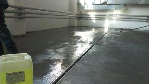 Полимерная смесь для пропитки бетона