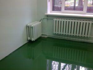 полиуретан на полу