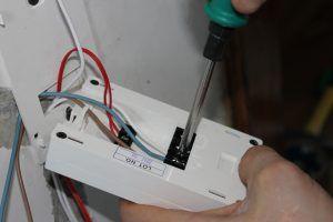 Проверить термодатчик теплого пола