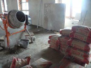 цемент песчаная стяжка