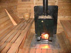 баня печка