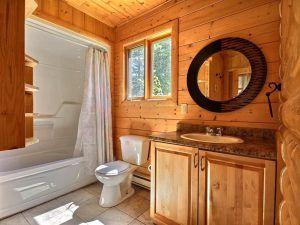 туалет деревянный дом