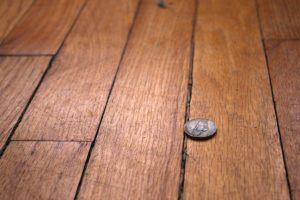 Усыхание деревянного пола