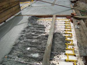 Водяной пол бетоном