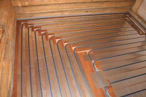 пол на деревянный пол