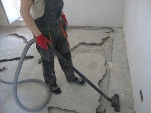 Зачистка бетона пол