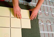 Текстура напольной плитки