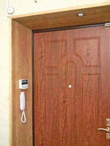 дверь отделка