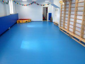 спортивный зал пол