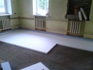 Теплоизоляция бетонного перекрытия
